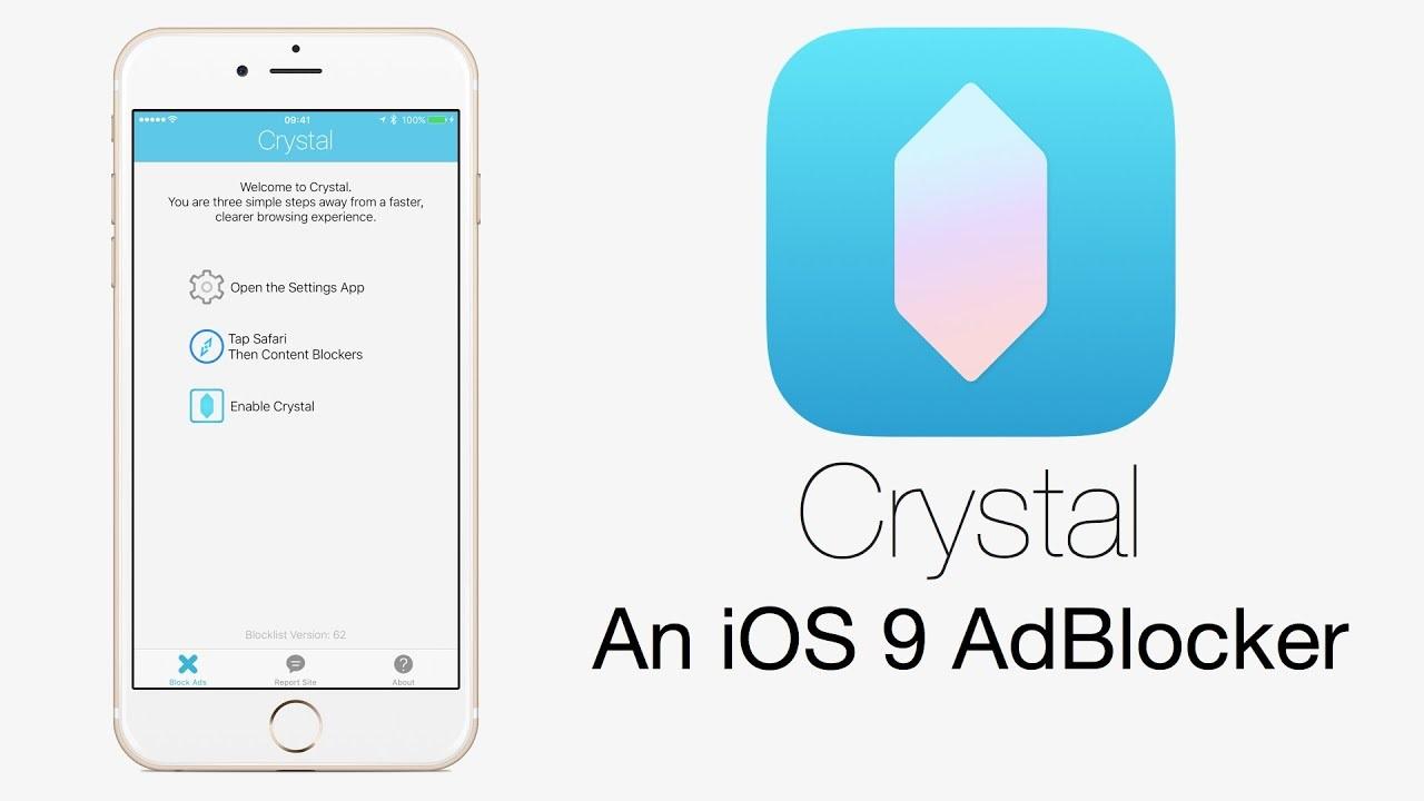 Crystal Adblock iPhone
