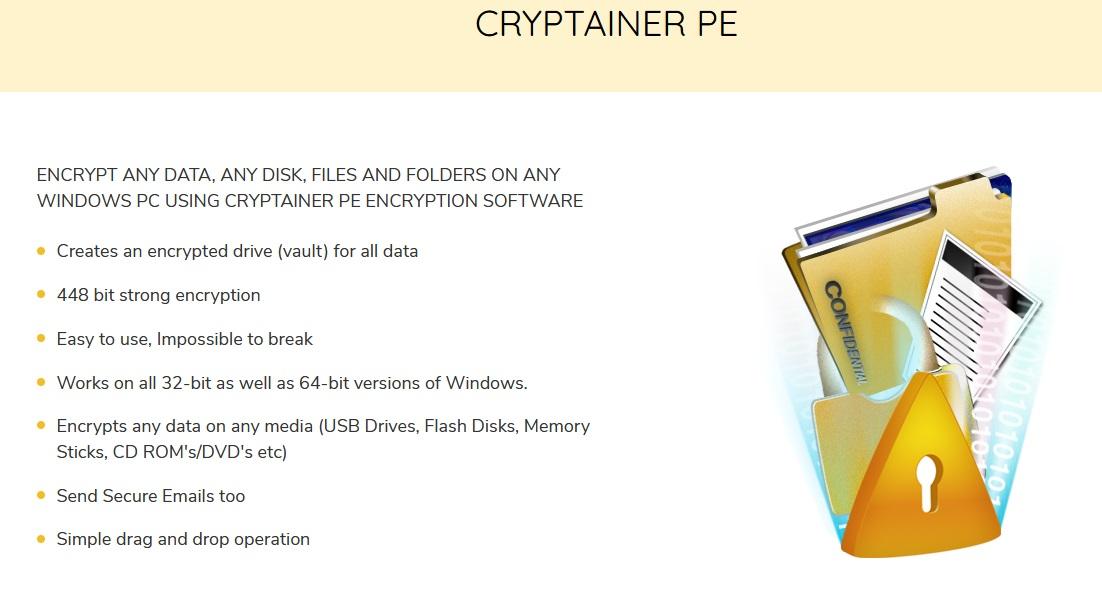 Cypherix Cryptainer PE