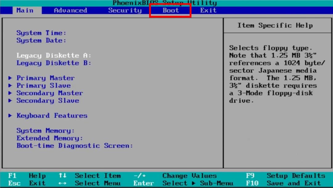 Windows 10 BIOS Boot