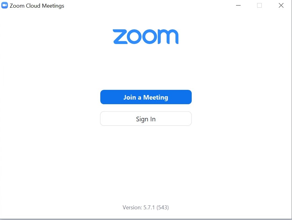 Launch the Zoom Application